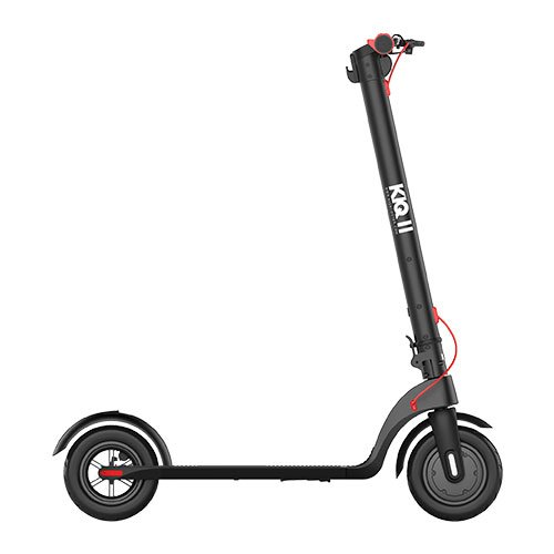 kiq 2 e scooter black