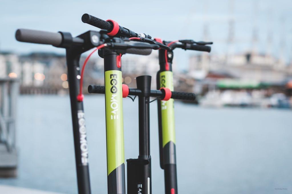EcoMove EEZEE eScooters Harbourside