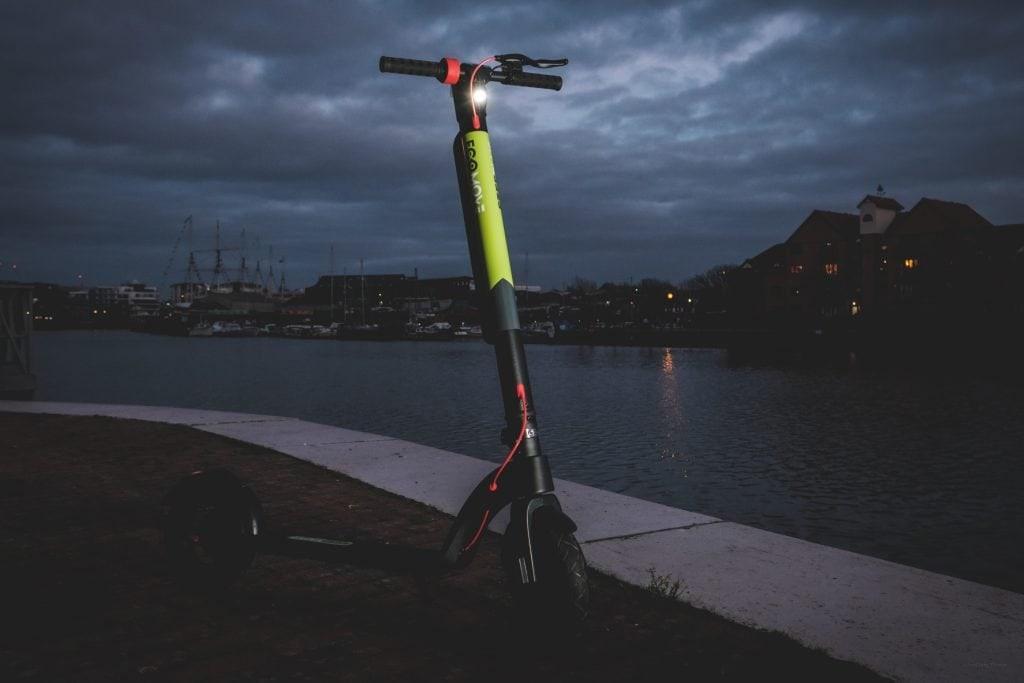 EcoMove EEZEE eScooters Dark