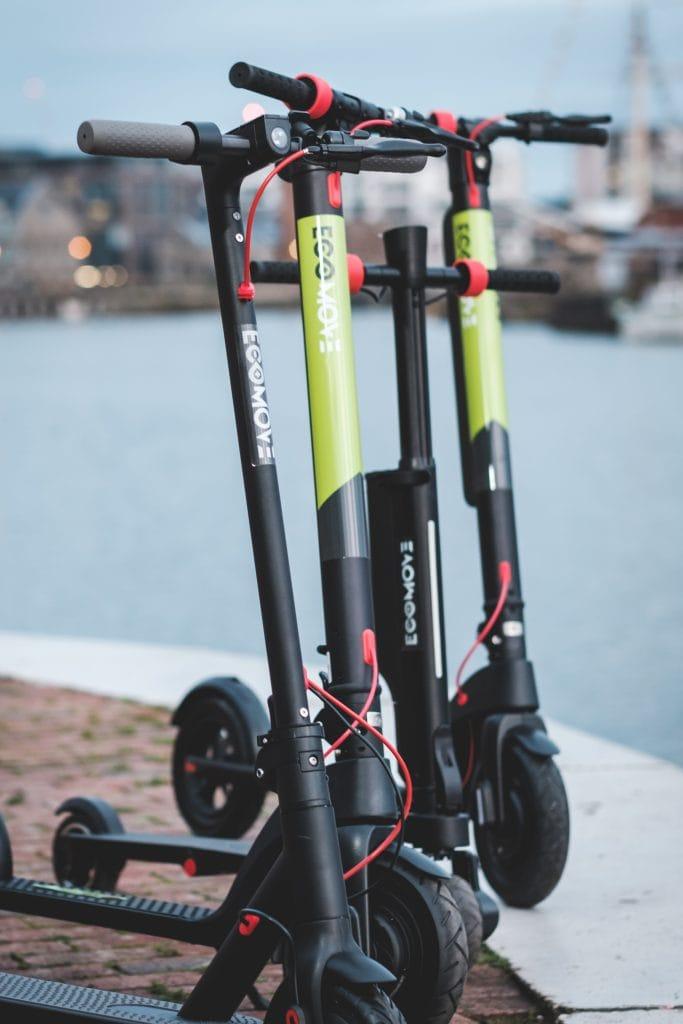 EcoMove EEZEE eScooters collection