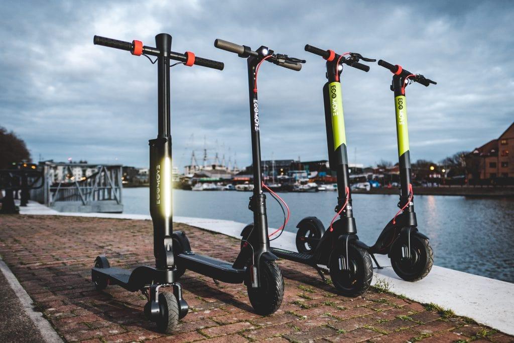 EcoMove EEZEE eScooters range
