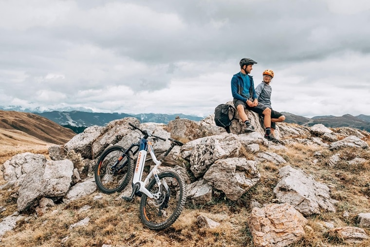 Haibike Flyon Adventure In The Mountains