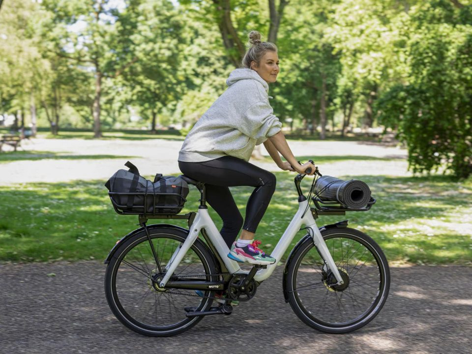 Muto Electric Bicycle Yoga Outdoors