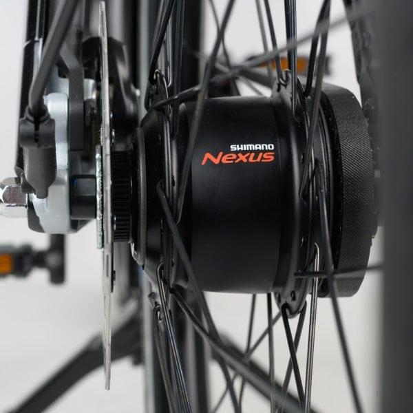 muto electric bi-cycle spokes