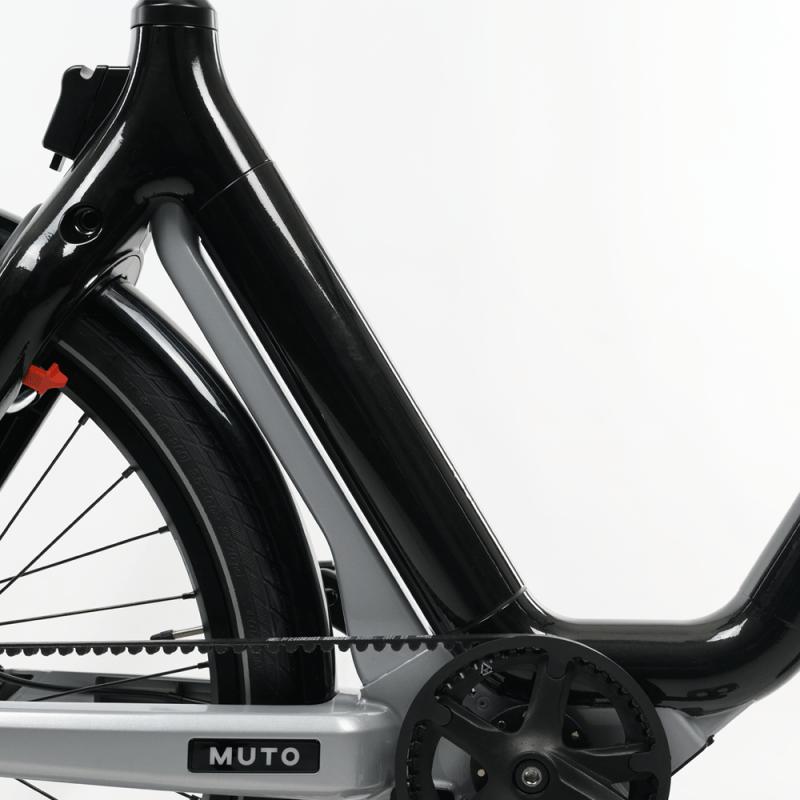 muto electric bi-cycle frame
