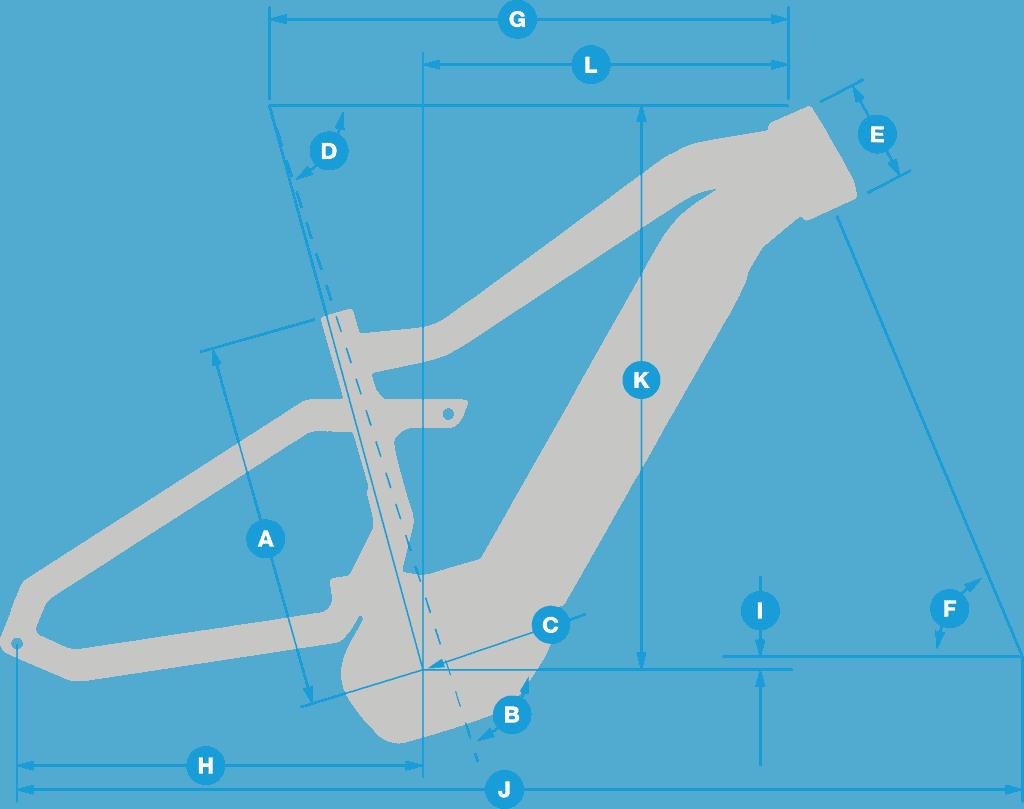 haibike geometry eBike intube