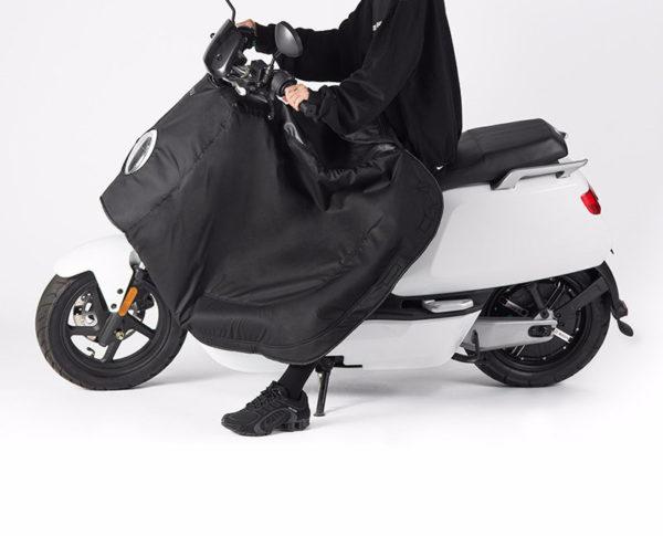NIU N Series waterproof leg cover in use
