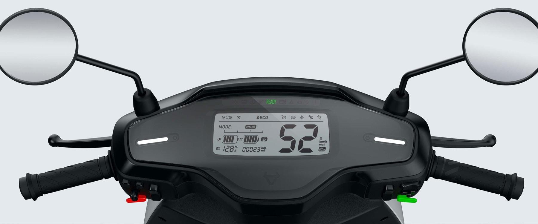 mqi electric bike dashboard