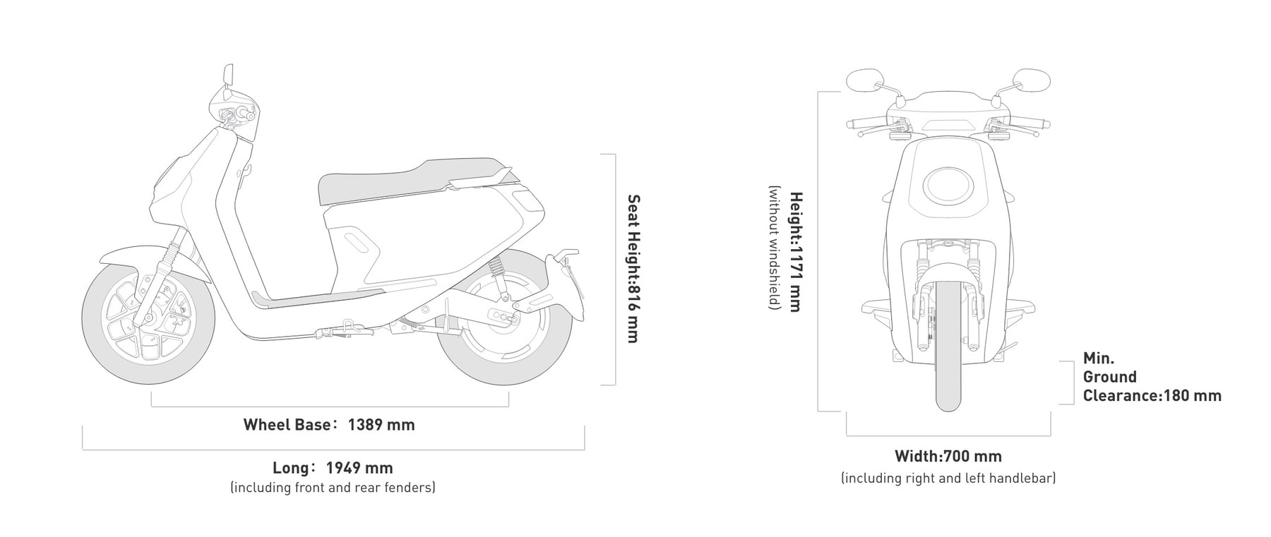 mqi electric bike specification