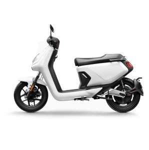 niu mgt extended range electric bike white
