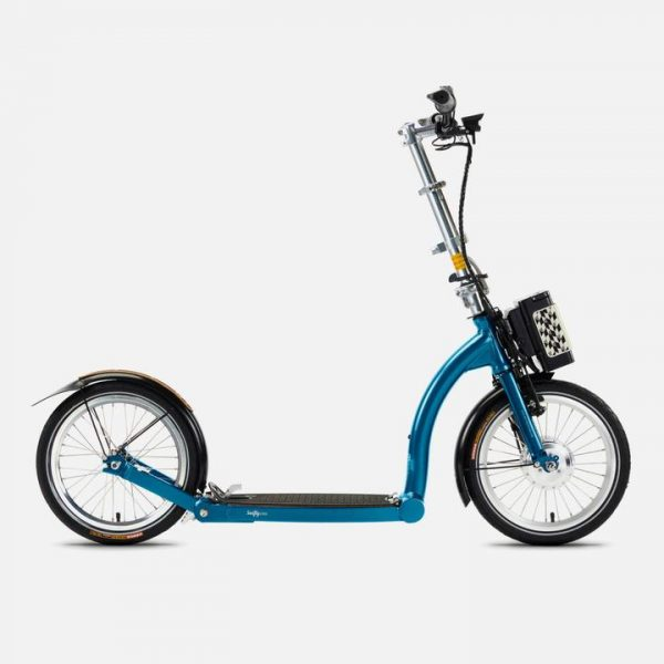 swifty one e electric scooter blue 1