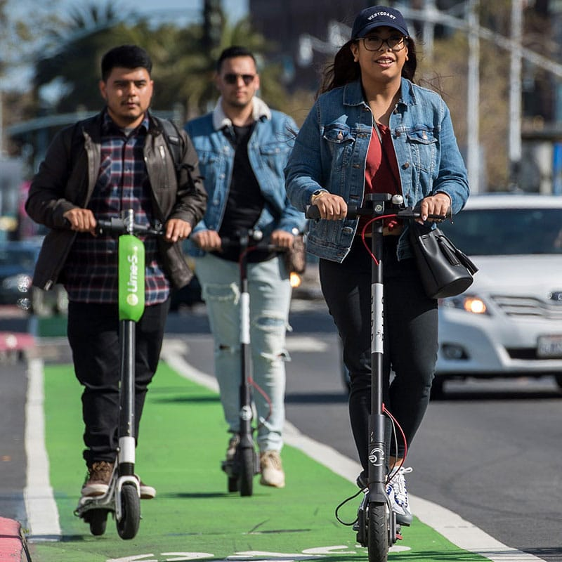 Reckless Scooter Riders