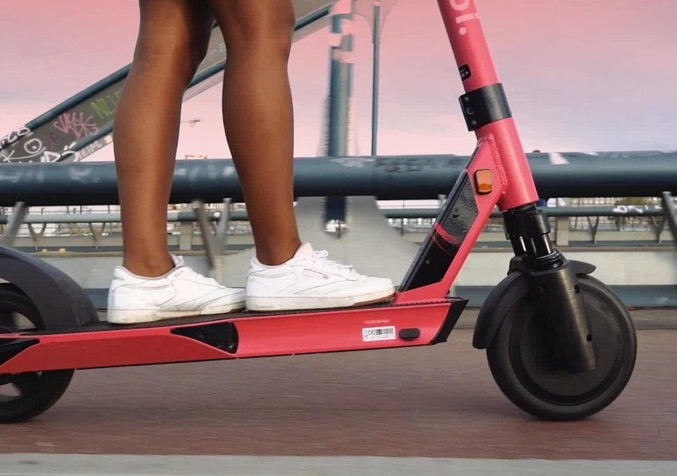 Voi Kick Electric Scooters Rental In Bristol