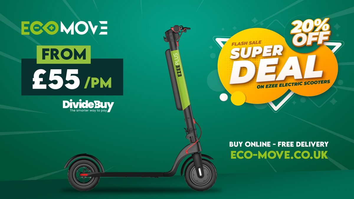 Ezee Electric Scooter Promotion