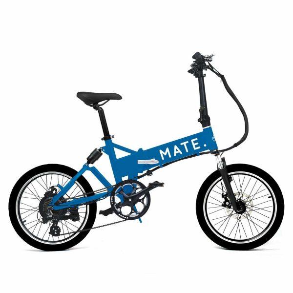 MATE CITY BLUE foldable ebike