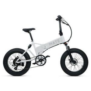 Mate Bike X White Ice Foldable