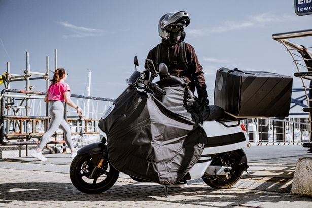 Niu Cargo Electric Delivery Scooter