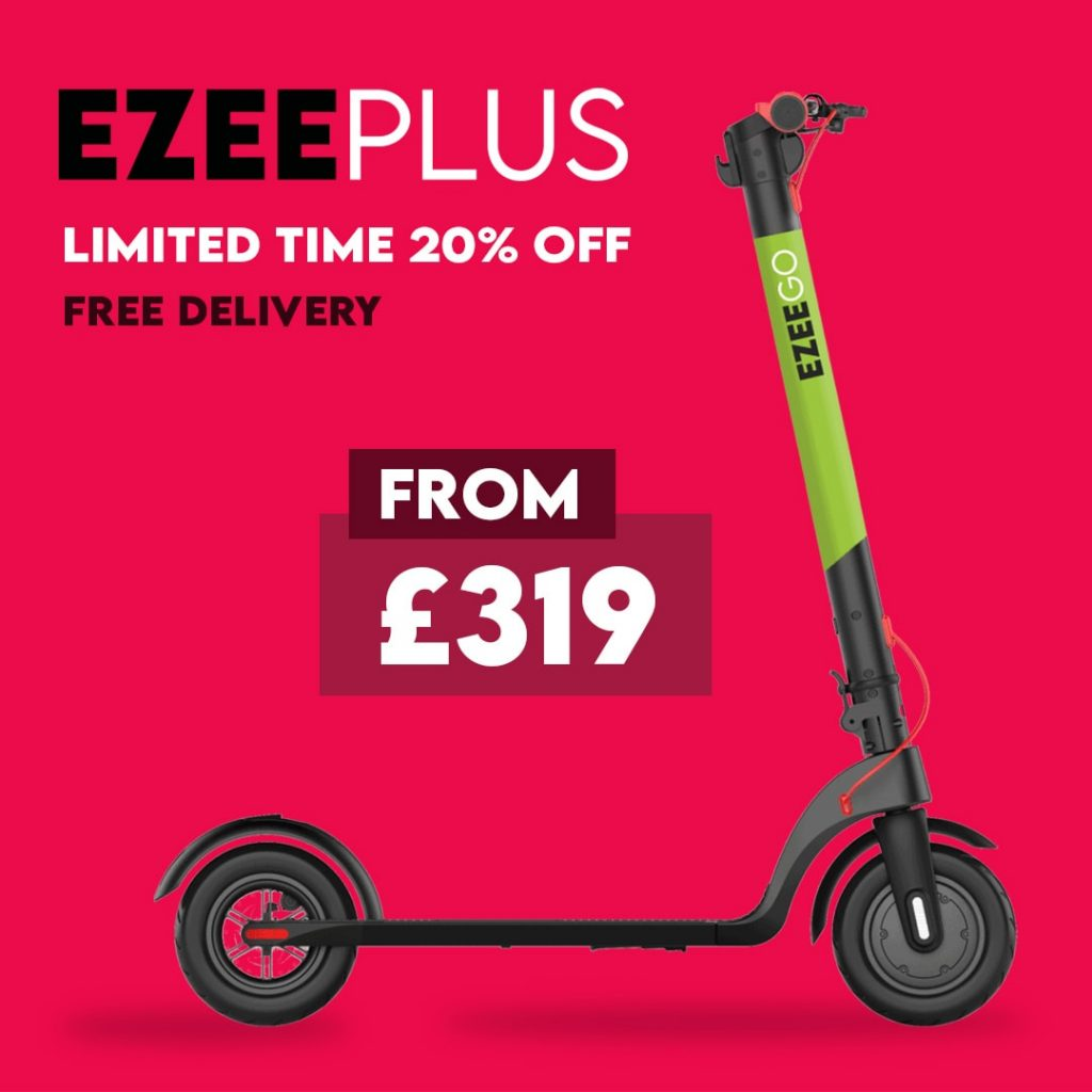 20% Electric Scooter Sale