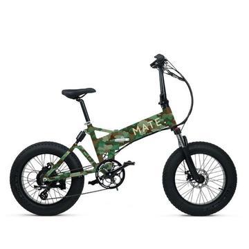 Mate X Electric Bike 750W Army Green