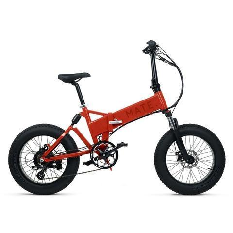 Mate X Electric Bike 750W Burnt Orange