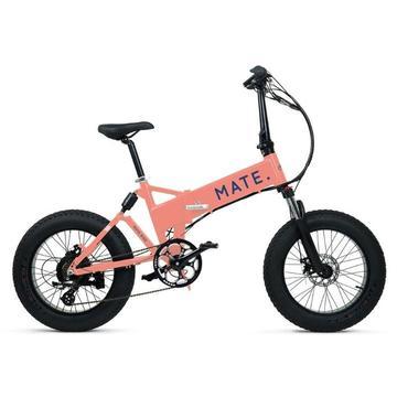 Mate X Electric Bike 750W Peach