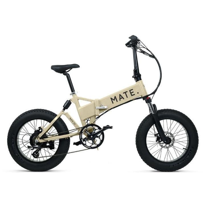 Mate X Electric Bike 750WWhite