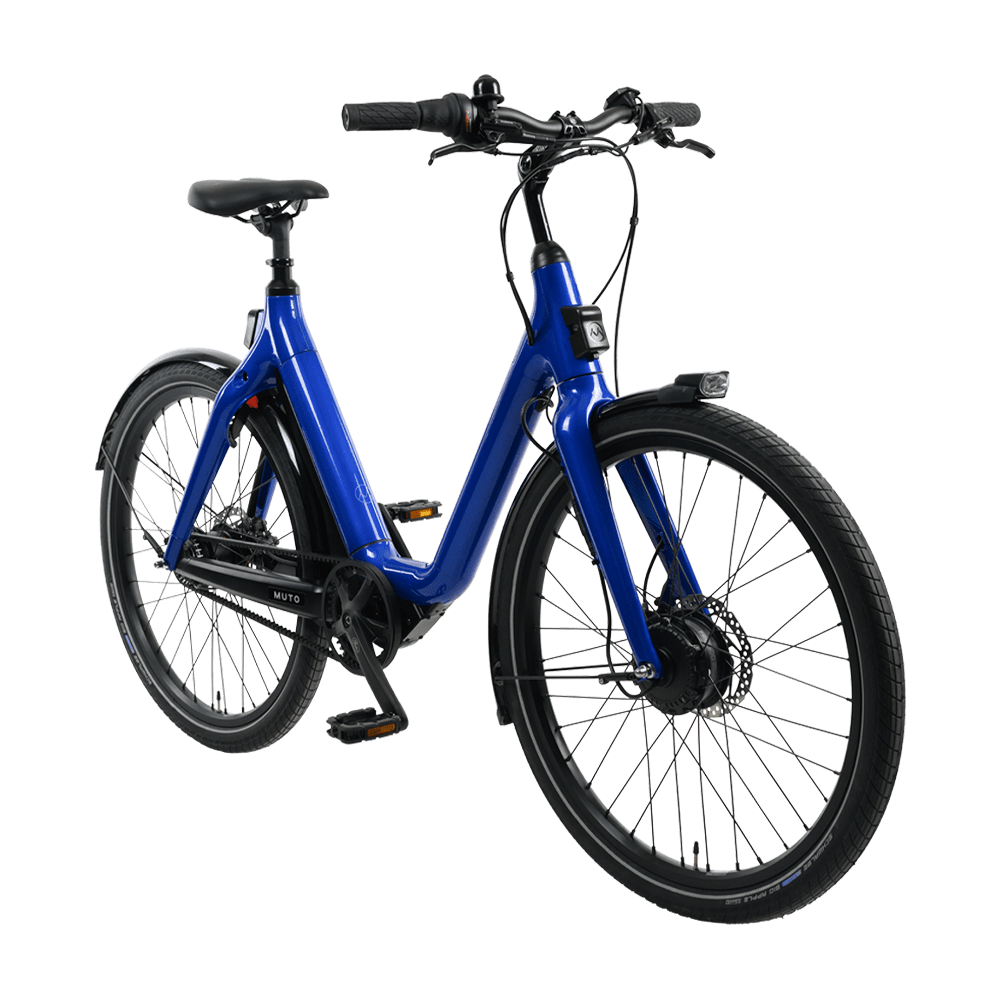 Muto Step-Through E-Bike – Blue