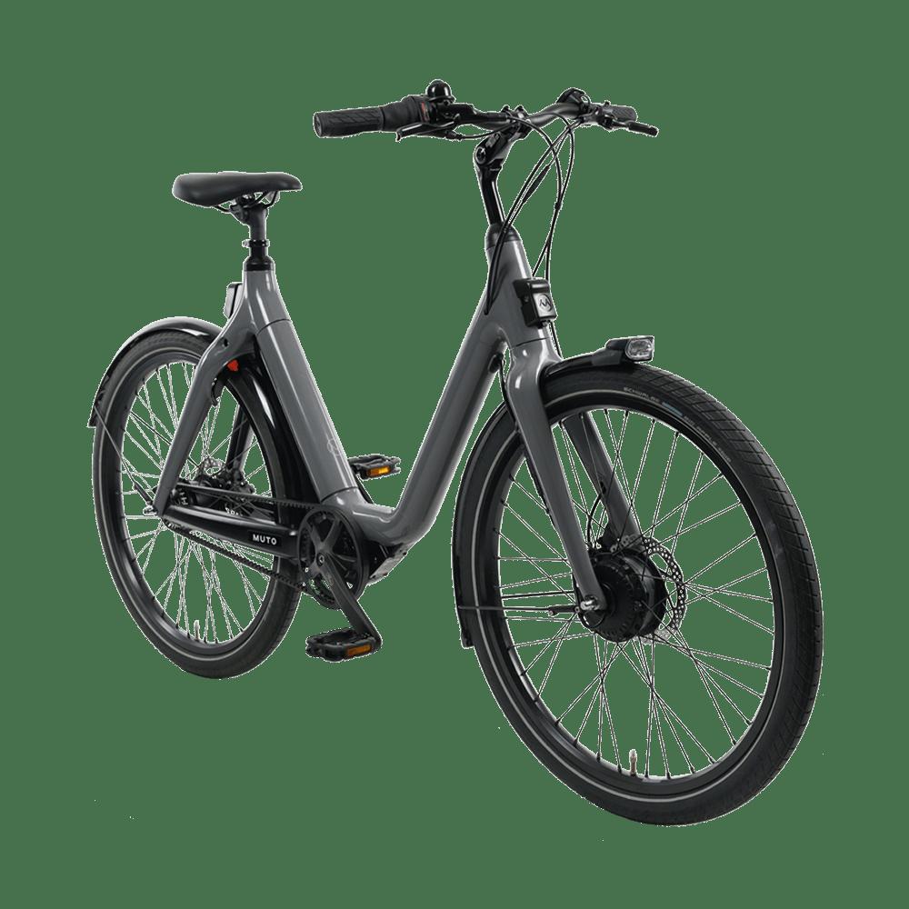 Muto Step-Through E-Bike – Grey