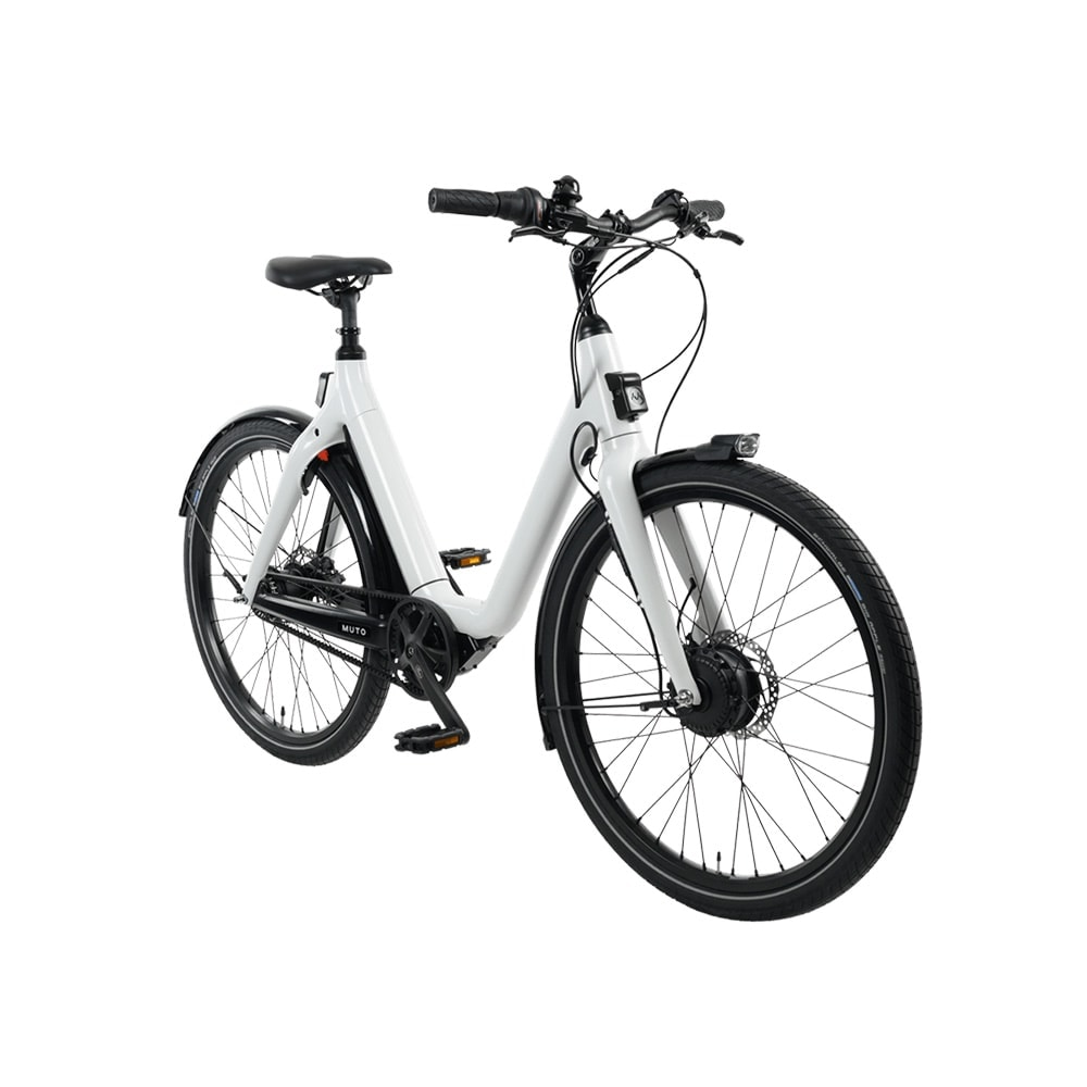 Muto Step-Through E-Bike – White