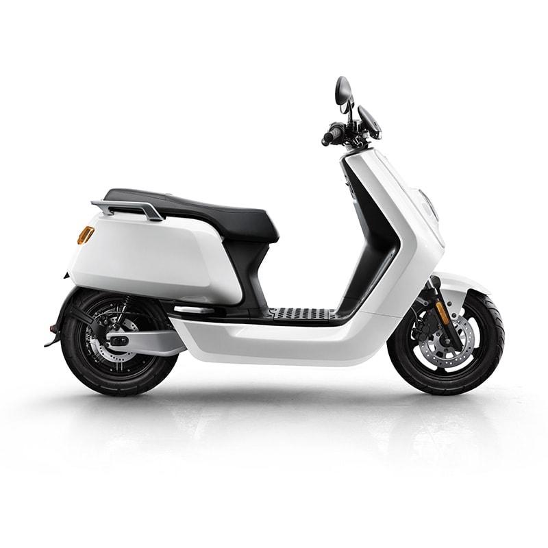 Niu Nqi Sport Electric Moped White