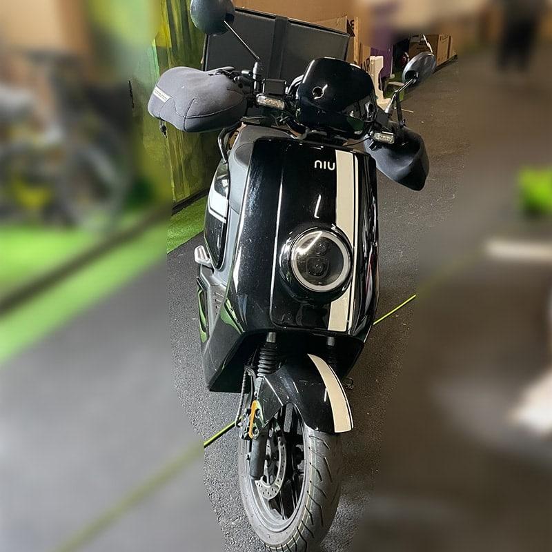 Niu Used Moped Black