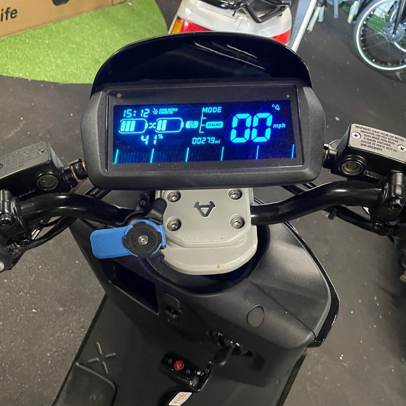 Niu Used Scooter With Speedometer