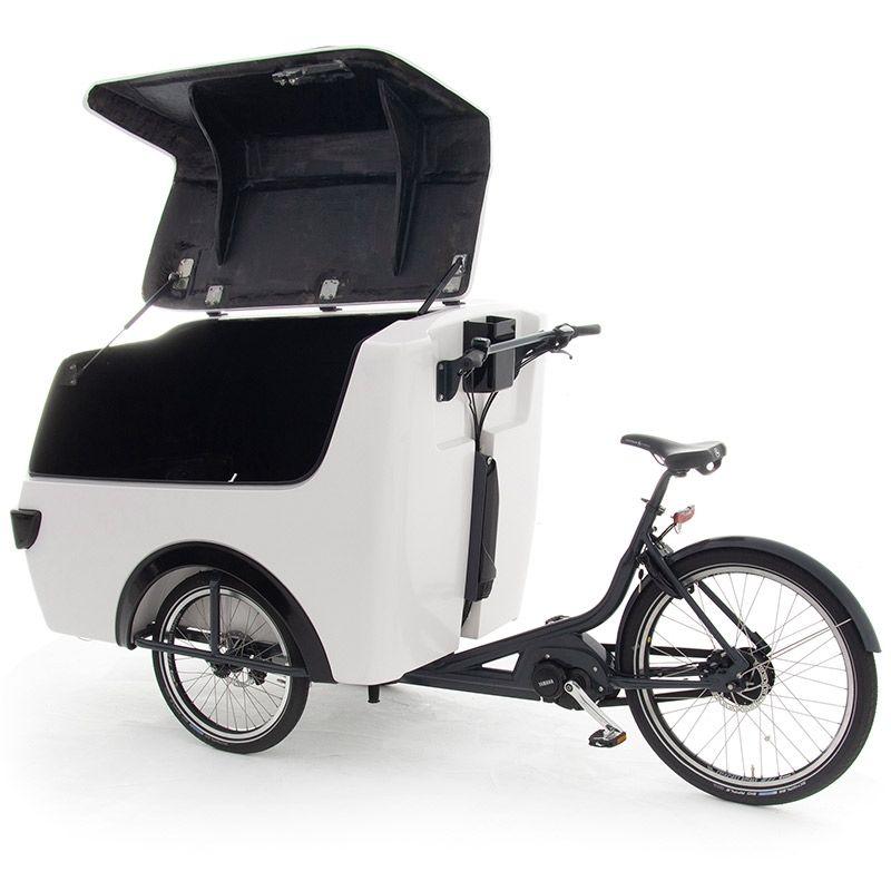 Raleigh E-Cargo – Electric Cargo TrikeOpen