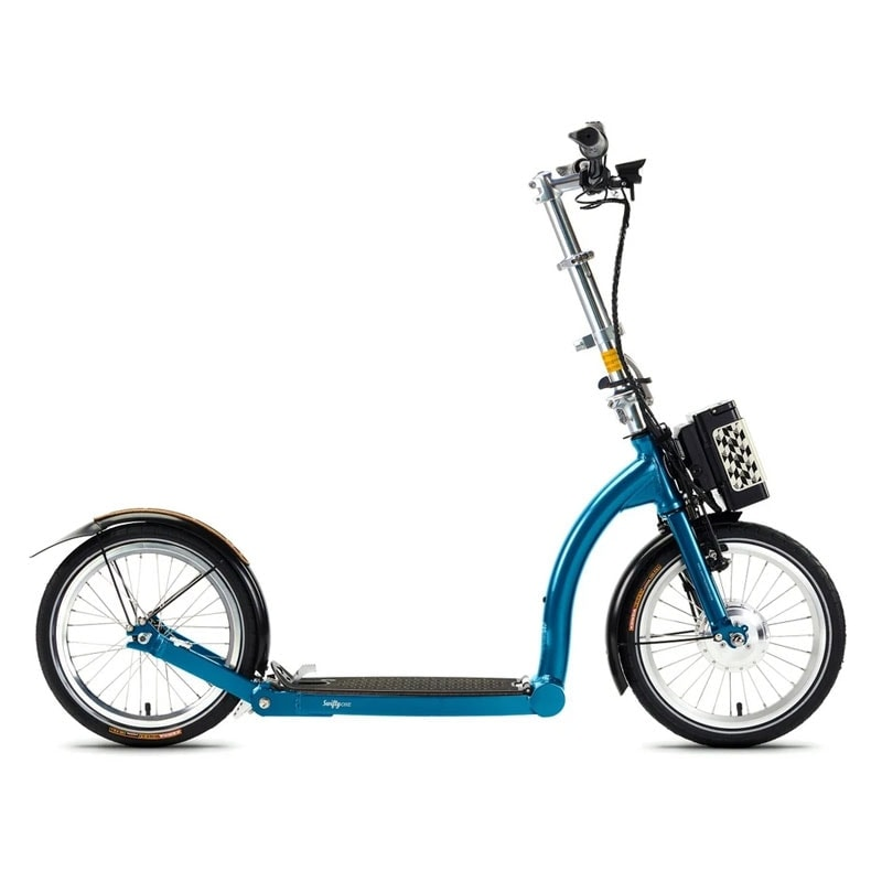 Swifty One E Scooter Blue