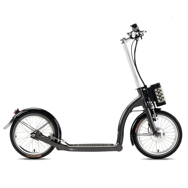 Swifty One E Scooter Grey Bristol
