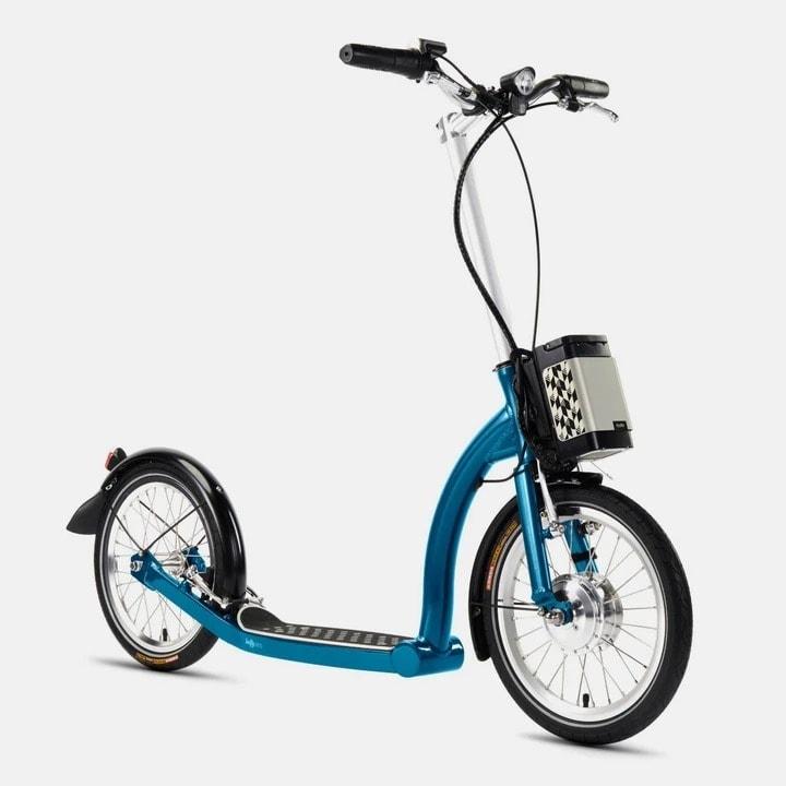Swifty Zero E Scooter Blue Profile