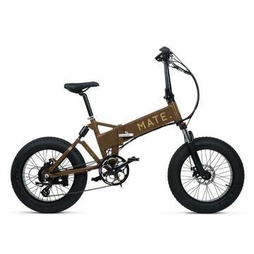 Mate X Electric Bike 750W Brown