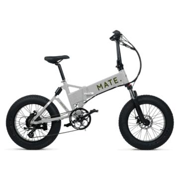 Mate X Electric Bike 750WLight Grey
