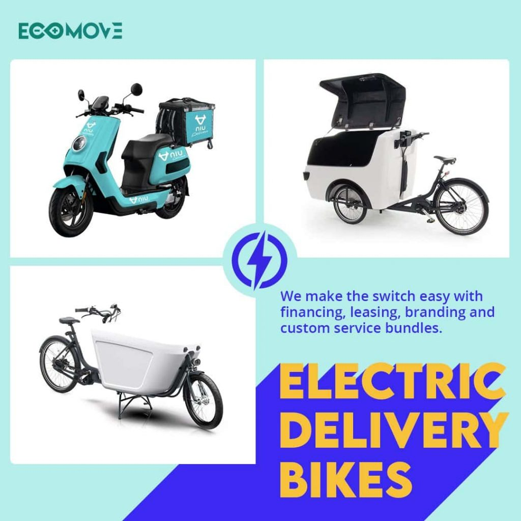 Electric Cargo Delivery Bikes