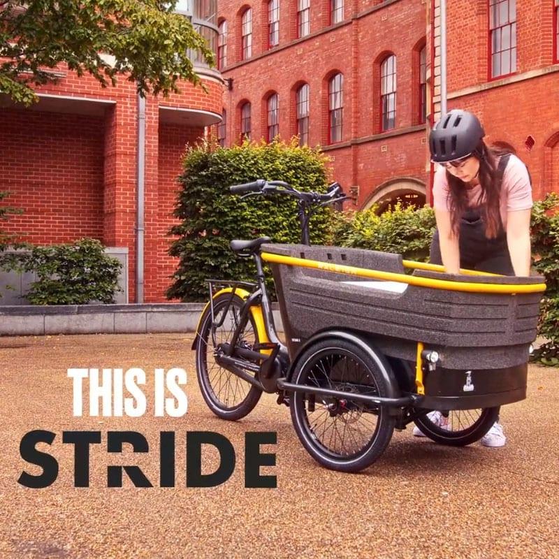 Raleigh Stride 3 Cargo Business Trike