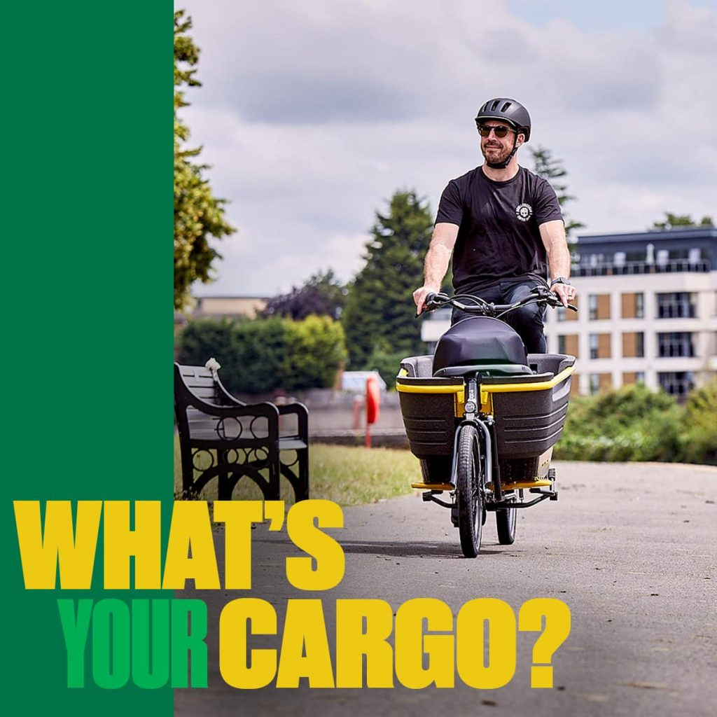 Raleigh Stride Whats Your Cargo