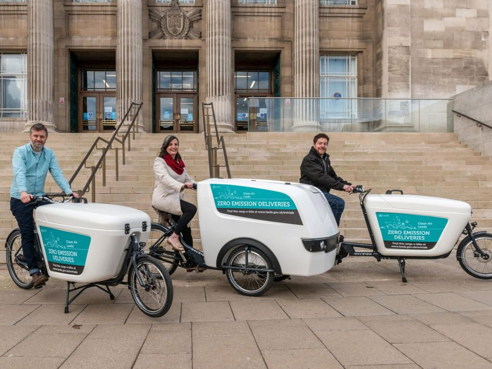 Electric Cargo Bike Grant