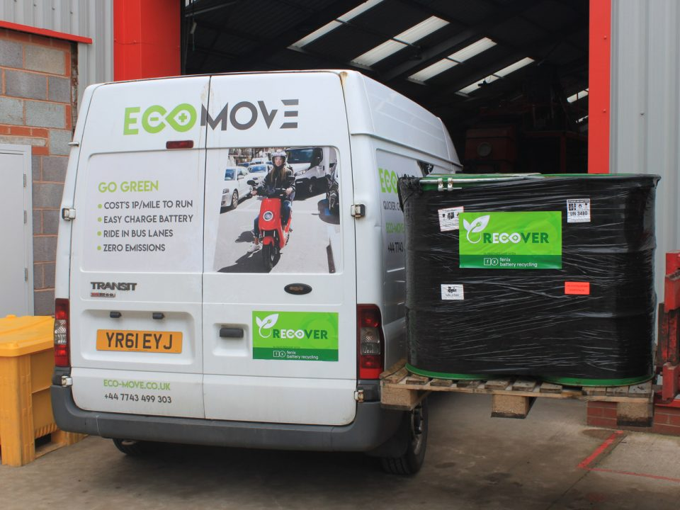 Eco Recover Battery Recycling