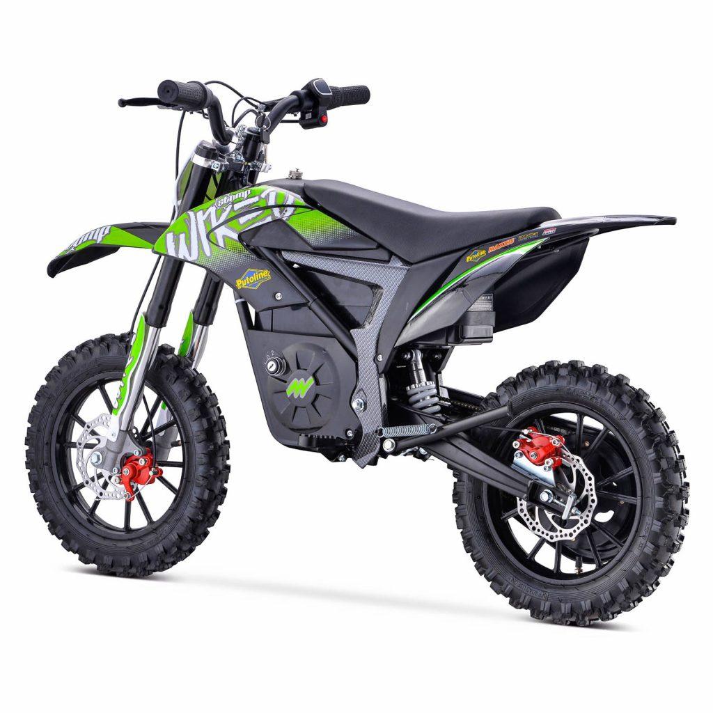 Stomp Wired Mini Dirt Bike Green