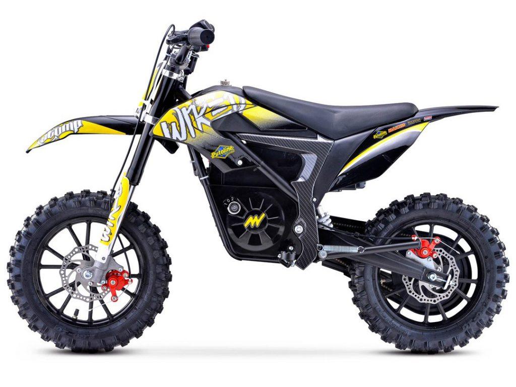 Stomp Wired Mini Dirt Bike Yellow