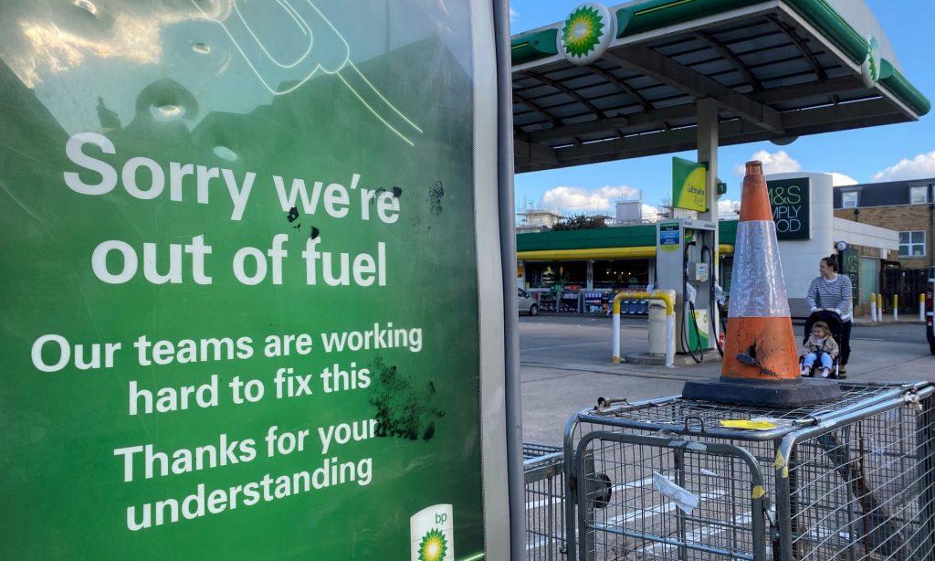 The Uk Fuel Shortage