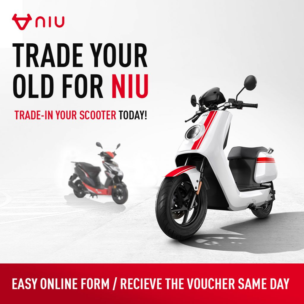 Trade Your Old For Niu